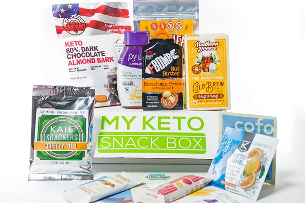 My Keto Snack Box monthly subscription