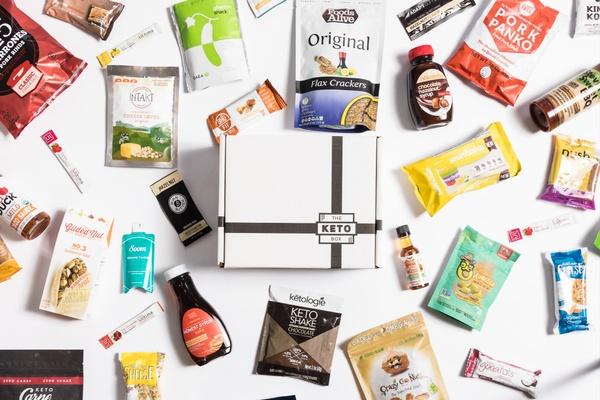 The Keto Box - Keto Monthly Snack Box